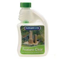 Interpet Feature Clear Treatment 250ml crystal water Garden